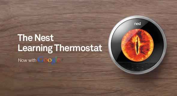 Nest-Thermostat-with-Google-Plus