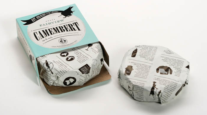 PNG Camembert The Dieline